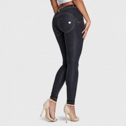 wr.up® shaping effect - standardowy stan - skinny - dekatyzowany jeans