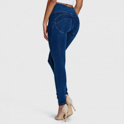 wr.up® shaping effect - regularny stan - skinny - efekt spranego jeansu