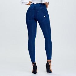 spodnie męskie regular-fit melange french terry - kieszenie z suwakiem