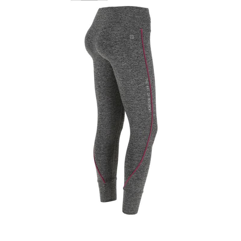 Leggings SUPERFIT D.I.W.O.® - 7/8 - Melange Dark Grey - Coral - N26QA