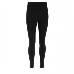 Leggings SUPERFIT - Regular Waist - 7/8 - Materiał imitujący skórę - Oddychające wstawki z siatki