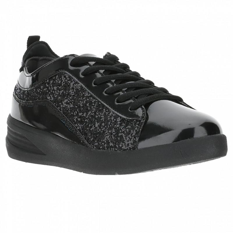 Damskie buty - Czarny - N0