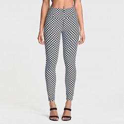 WR.UP® - Spodnie Skinny z regularnym stanem w kolorze ciemnego beżu
