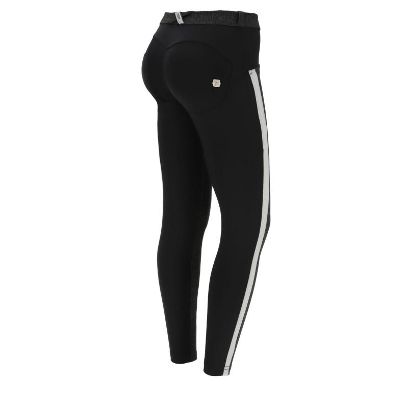WR.UP® - Spodnie Skinny z regularnym stanem w kolorze pudrowego różu