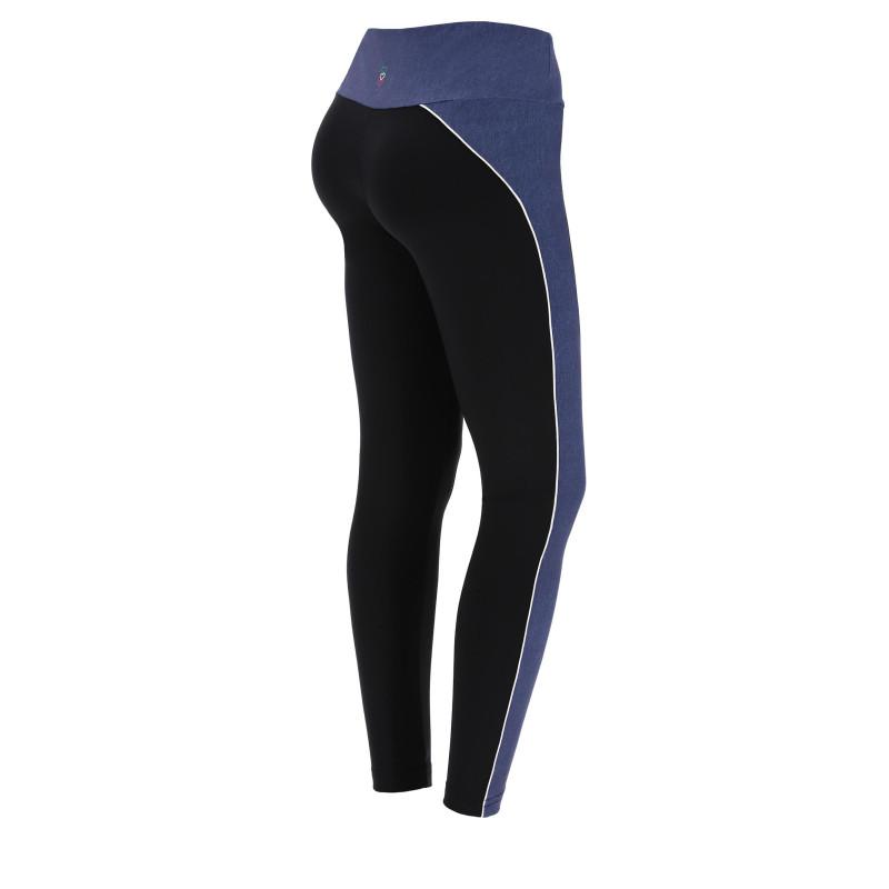 Legginsy DENIM do jogi - 7/8 - Made in Italy - JN00