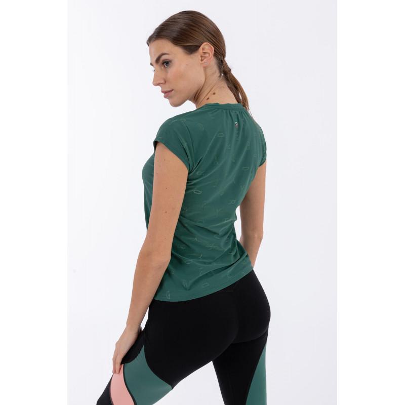 Koszulka do jogi - Made in Italy - V370