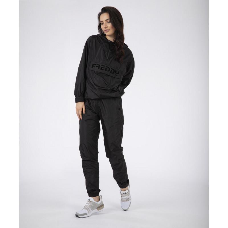 Nylonowe spodnie typu Boyfriend - N0