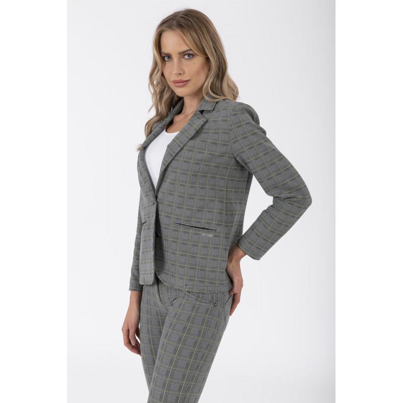 WR.UP® - Spodnie Skinny z wysokim stanem w kolorze czarnym rozjaśnione z przodu i z tyłu
