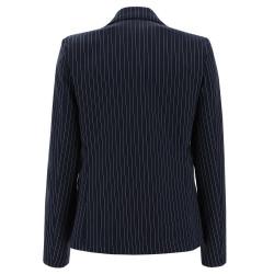WR.UP® - Spodnie Super Skinny z regularnym stanem w kolorze czarnym rozjaśnione z przodu i z tyłu