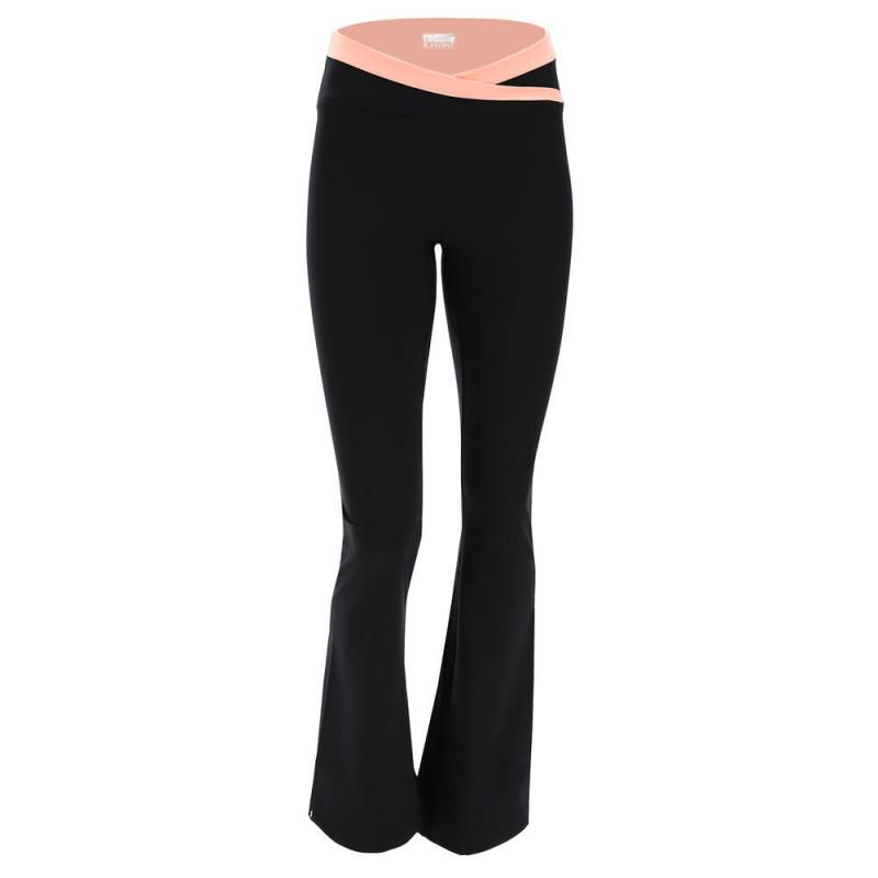 WR.UP® - Spodnie Skinny z niskim stanem w kolorze granatowym