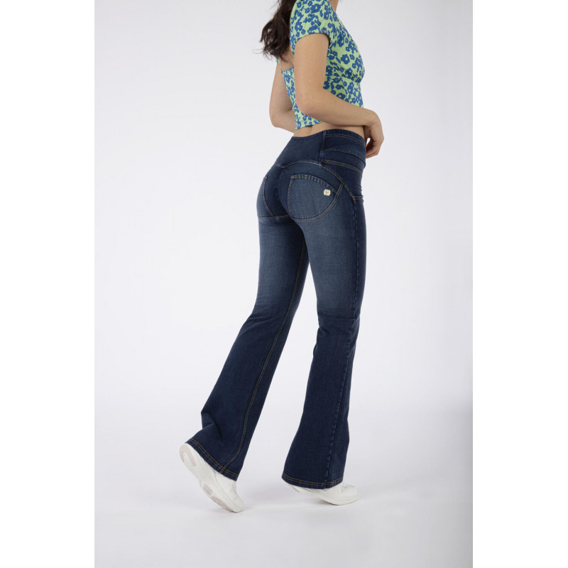 WR.UP® Denim - Flare z wysokim stanem - J0Y