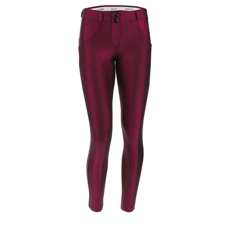 WR.UP® Denim - Spodnie Skinny z regularnym stanem w kolorze białym