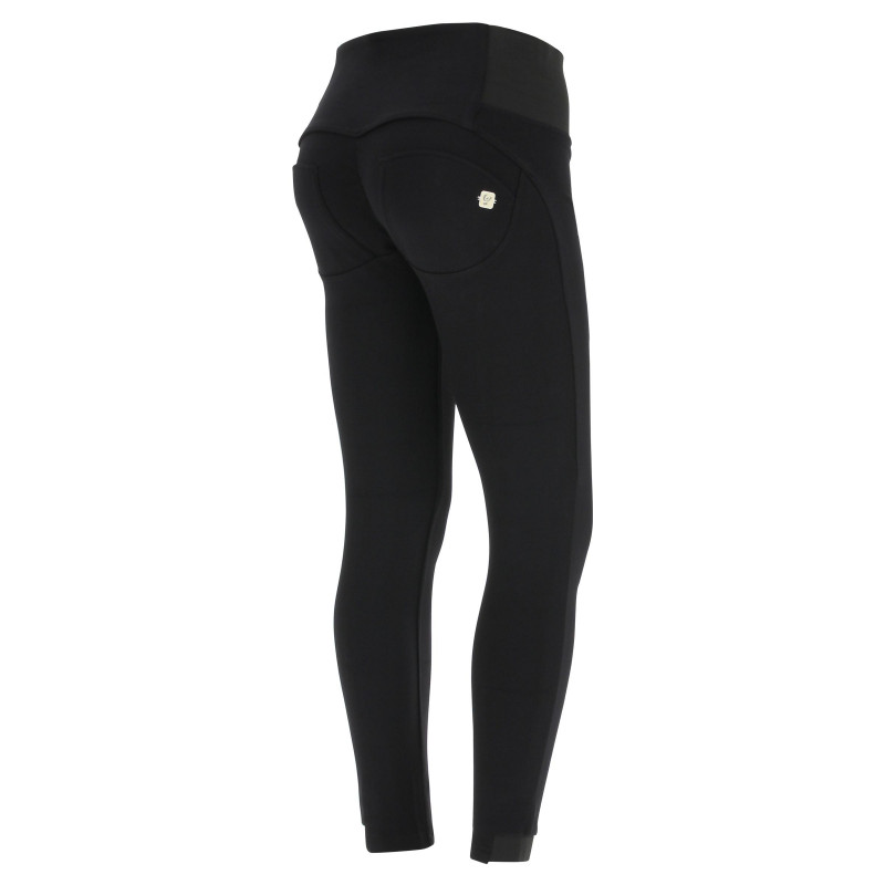 WR.UP® Drill - High Waist Skinny - Made in Italy - Black - N0