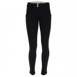 WR.UP® Denim - Spodnie Skinny z regularnym stanem w kolorze szarym z przetarciami