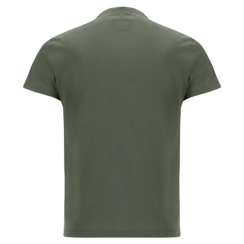 WR.UP® Denim - Spodnie Skinny z wysokim stanem w kolorze ciemnoniebieskim z żółtymi szwami i niebieskim zamkiem