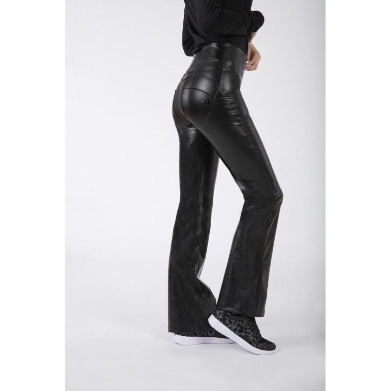 WR.UP® - Spodnie Skinny z wysokim stanem w kolorze ciemnoszarym