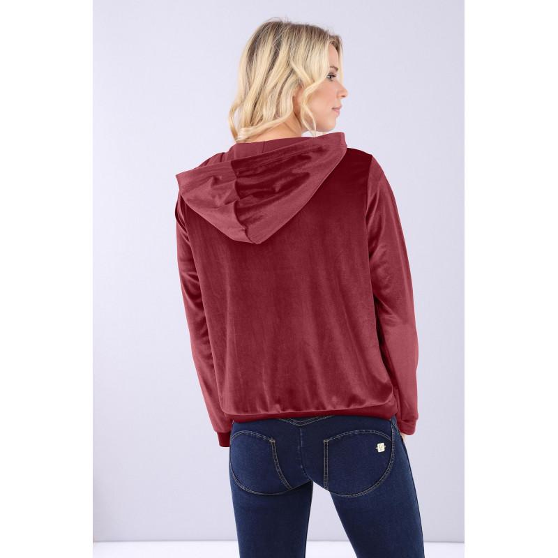 Bluza z szenilu - K840