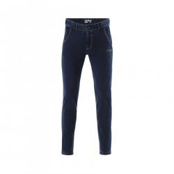 WR.UP® Denim - Spodnie Skinny z niskim stanem w kolorze szarym z przetarciami