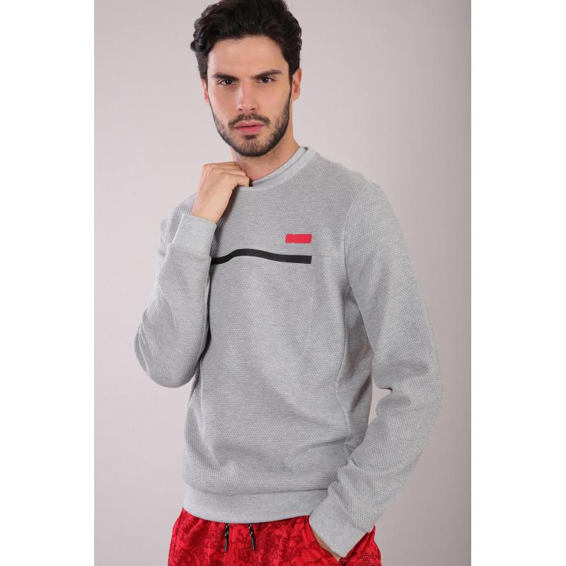 WR.UP® - Spodnie Straight z niskim stanem w kolorze szarym