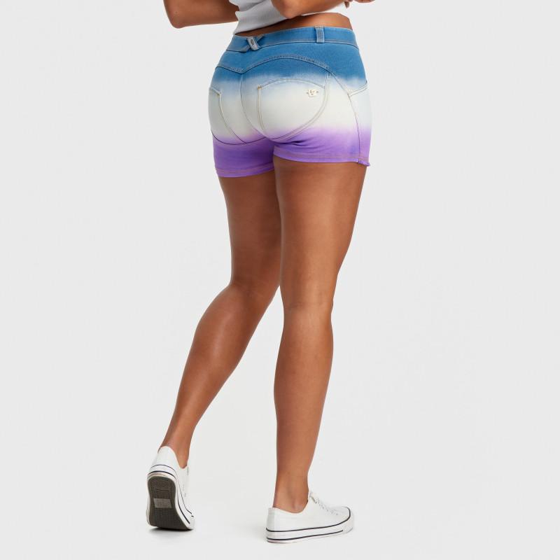 WR.UP® - Spodnie Straight z regularnym stanem w kolorze czarnym