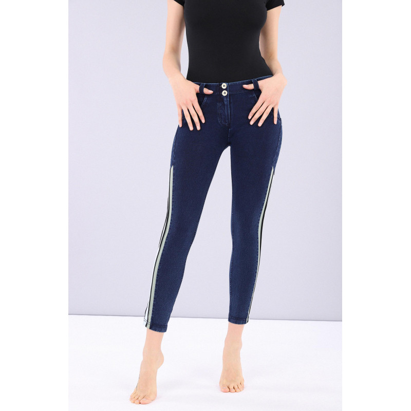 WR.UP® Denim Specials - 7/8 Skinny z regularnym stanem - J0B