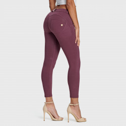 Leggings SUPERFIT Regular Waist D.I.W.O.® - 7/8 - mit Kontrastnähten N0