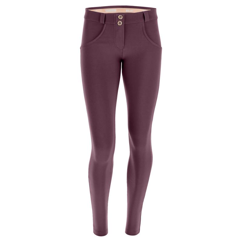 WR.UP® D.I.W.O.® - Spodnie Super Skinny z regularnym stanem w kolorze jasnoróżowym