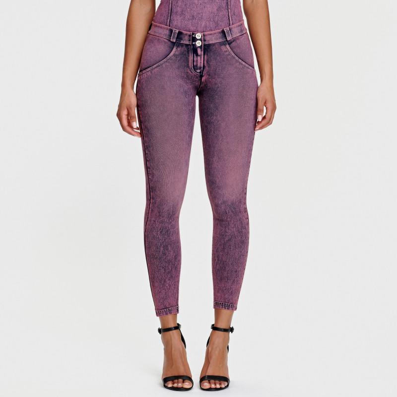 WR.UP® D.I.W.O.® - Spodnie Super Skinny z regularnym stanem w kolorze czarnym