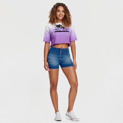 WR.UP® - Spodnie Skinny z regularnym stanem w kolorze ciemnobeżowym