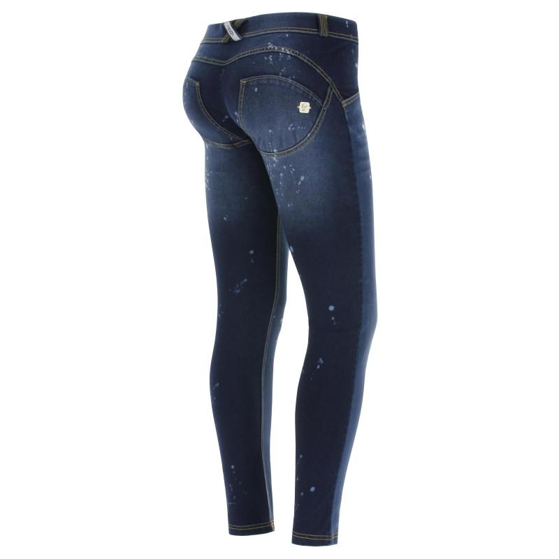 WR.UP® Denim Specials - Skinny z regularnym stanem - z efektem zużycia - J0Y