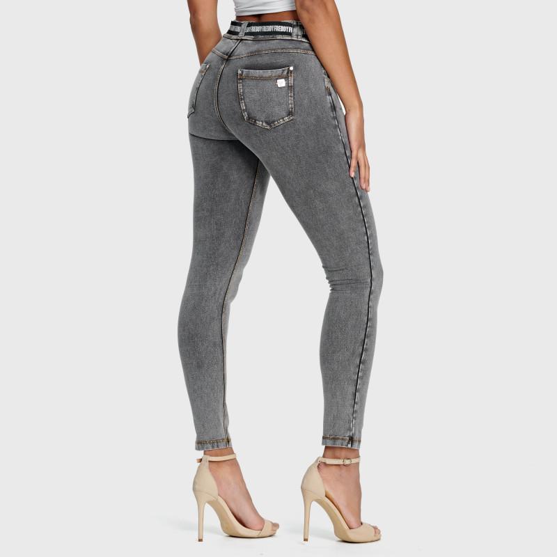 N.O.W.® Pants Denim - Skinny ze średnim stanem - J3Y