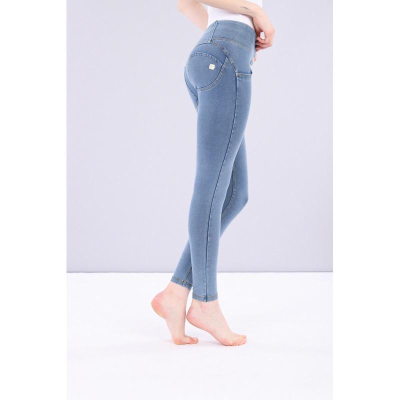WR.UP® - D.I.W.O Pro - Spodnie Super Skinny z regularnym stanem w kolorze beżowym