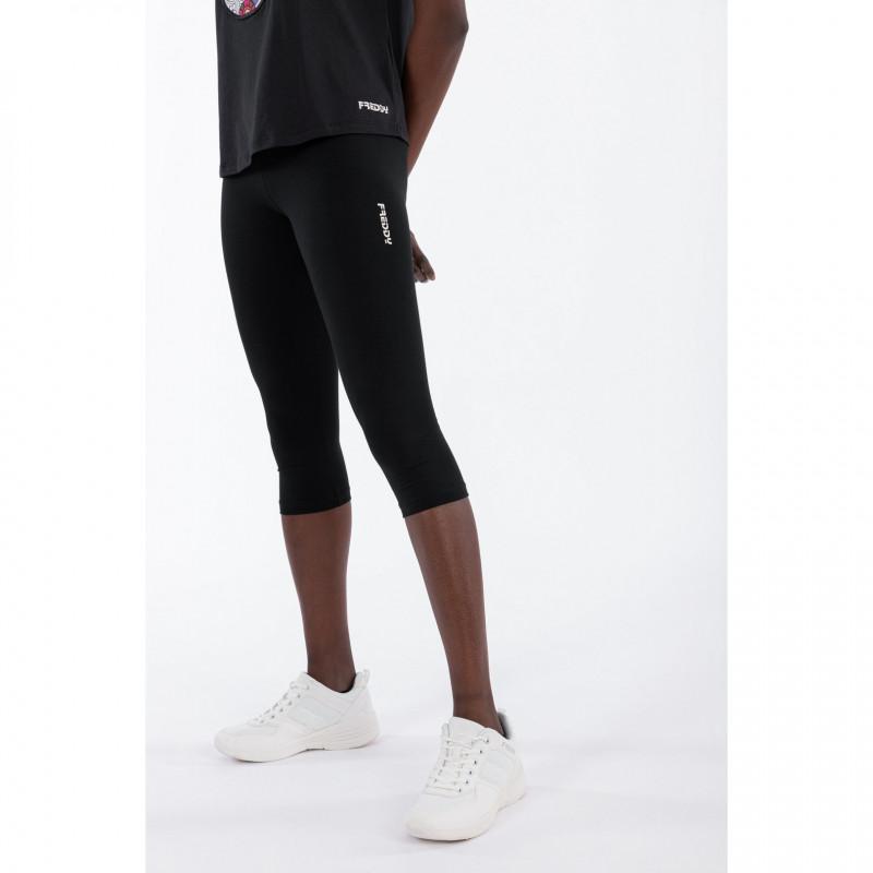 WR.UP® Denim - Spodnie Super Skinny z regularnym stanem w kolorze niebieskim z żółtymi szwami