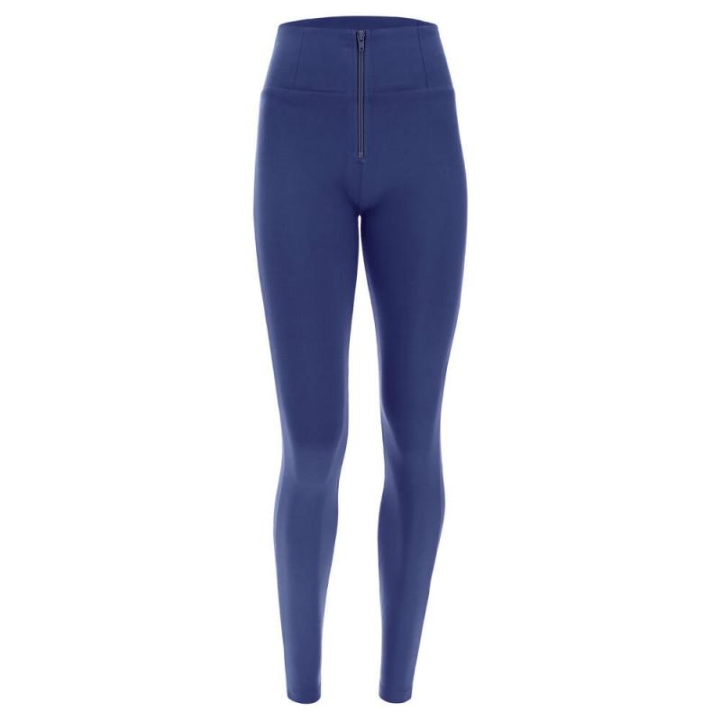 WR.UP® Denim - Spodnie Skinny z regularnym stanem w kolorze czarnym z kontrastowymi paskami