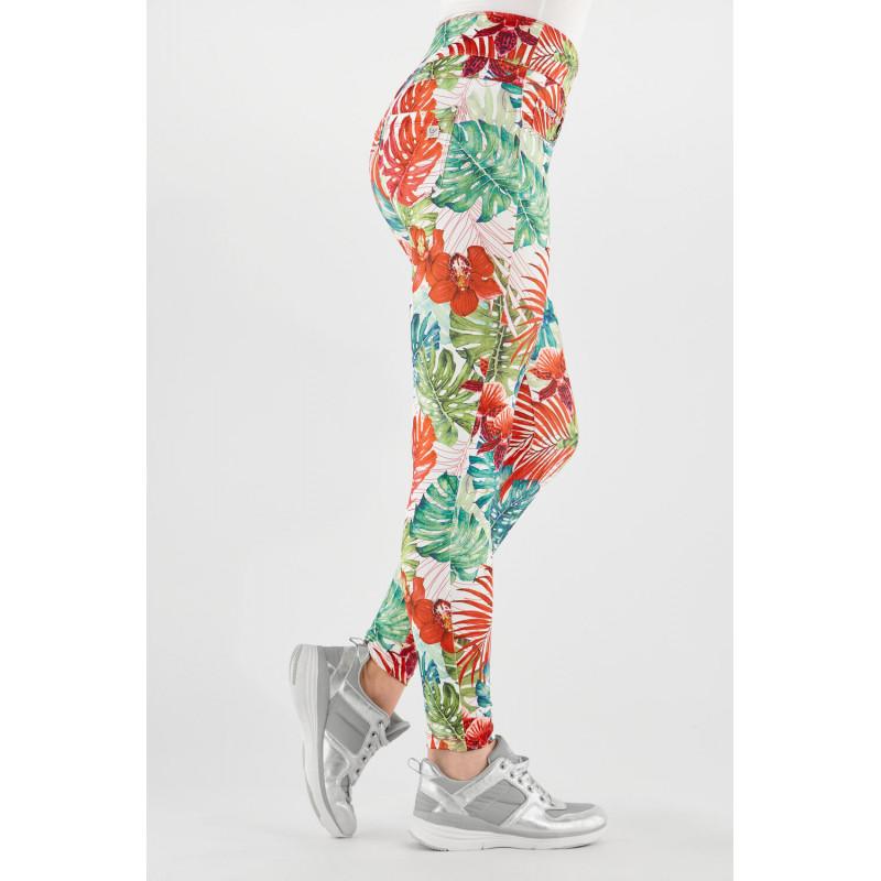 Koszulka do jogi Made in Italy w kolorze białym