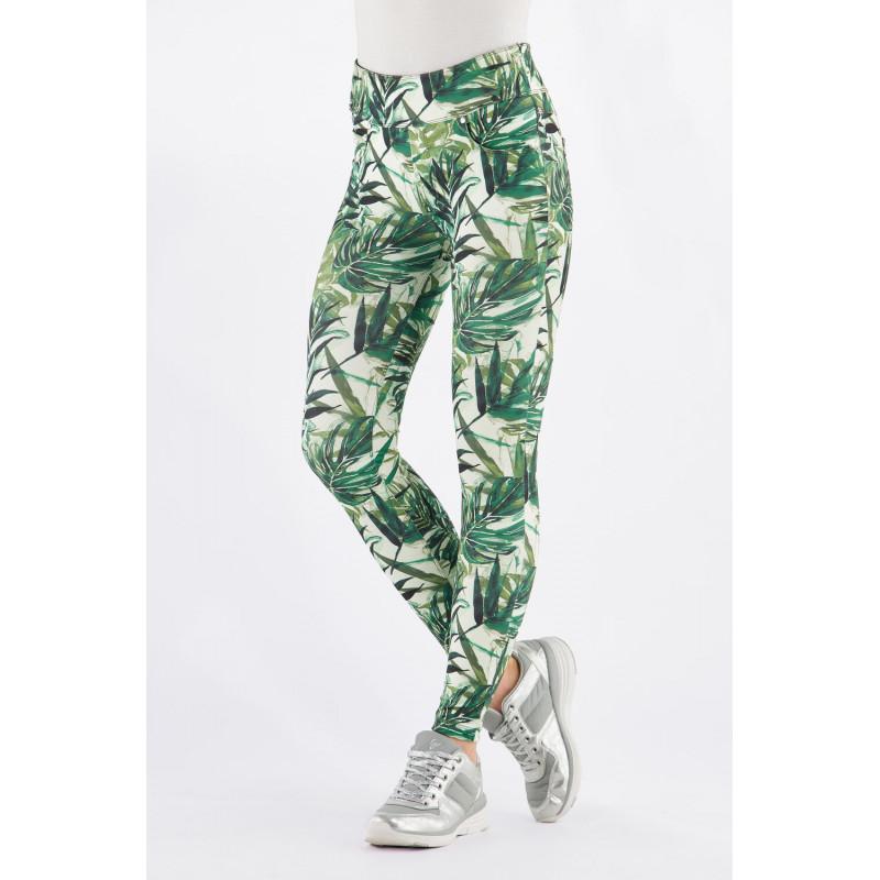 N.O.W.® D.I.W.O.® Yoga - Spodnie Skinny z podwijanym pasem - FLO10