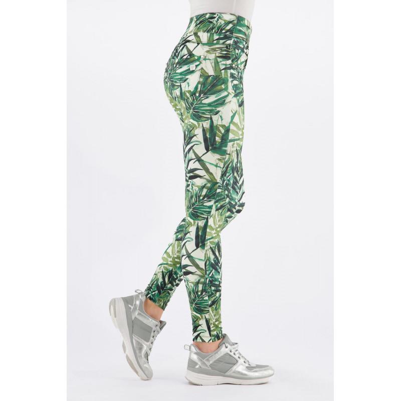 N.O.W.® D.I.W.O.® Yoga - Skinny z podwijanym pasem - FLO10