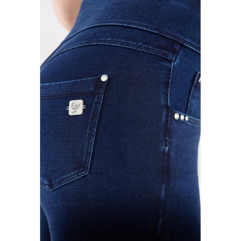 WR.UP® - Spodnie Super Skinny z regularnym stanem w kolorze bordowym