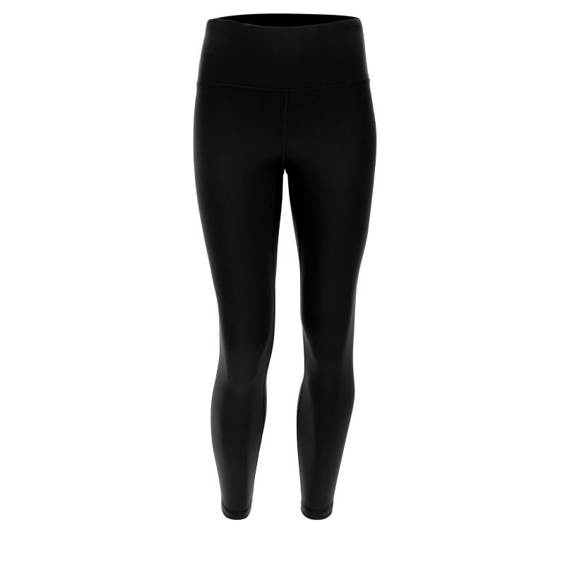 WR.UP® - Regular Waist Super Skinny - Bordowy z efektem jeansu