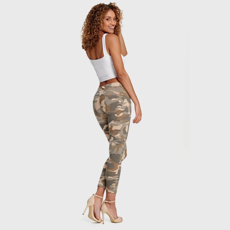WR.UP® Denim - Regular Waist Skinny - Destroyed & Used Look
