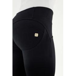 WR.UP® Denim - Spodnie Skinny z regularnym stanem w kolorze niebieskim z przeszyciami