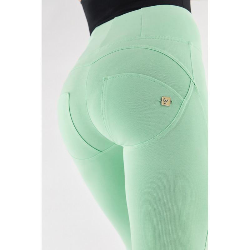 WR.UP® - Spodnie Skinny z regularnym stanem w kolorze tureckiej kawy