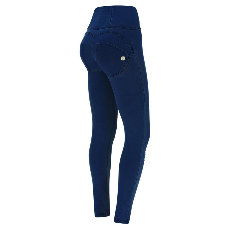 WR.UP® - Spodnie Skinny z regularnym stanem w kolorze jasnoszarnym