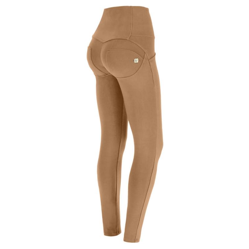 WR.UP® - Lateksowe Spodnie Skinny z wysokim stanem w kolorze czarnym