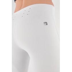 WR.UP® - Spodnie Skinny z wysokim stanem w kolorze granatowym