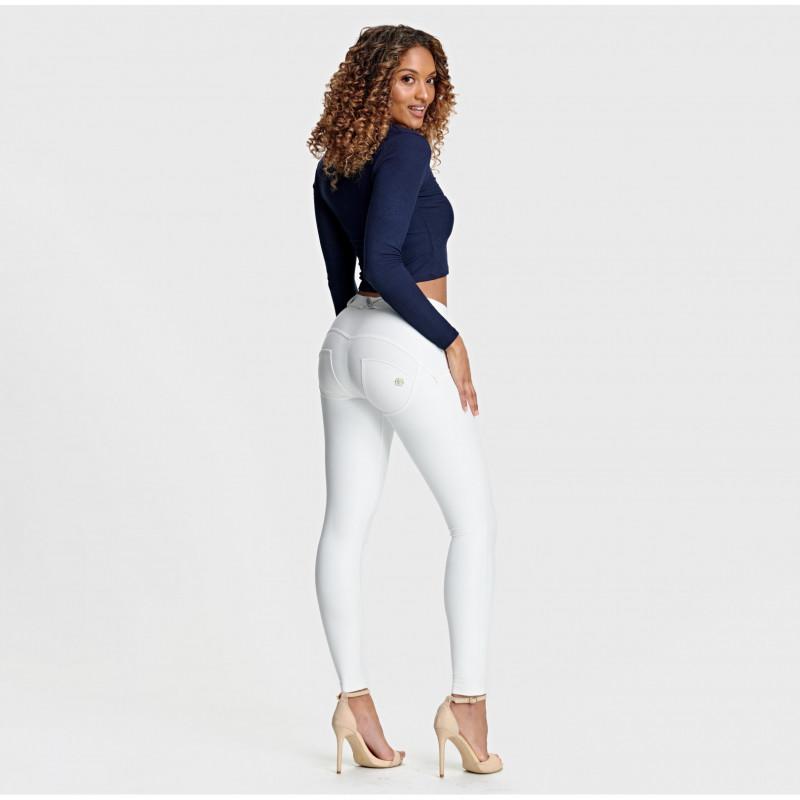 WR.UP® Denim - Spodnie Skinny z niskim stanem w kolorze jasno- i ciemnoszarym