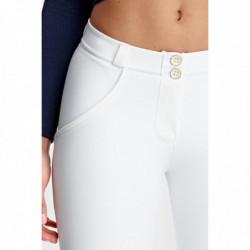 WR.UP® Denim - Spodnie Skinny z niskim stanem w kolorze jano- i ciemnoszarym