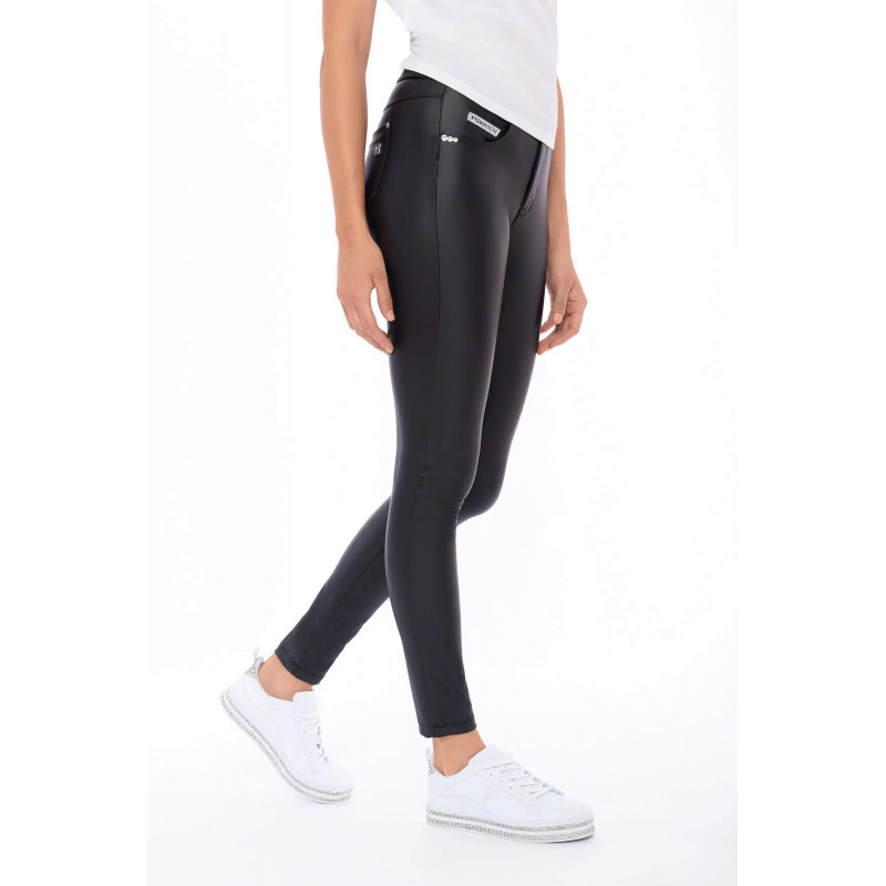 WR.UP® - High Waist Skinny - Dark Grey - G14