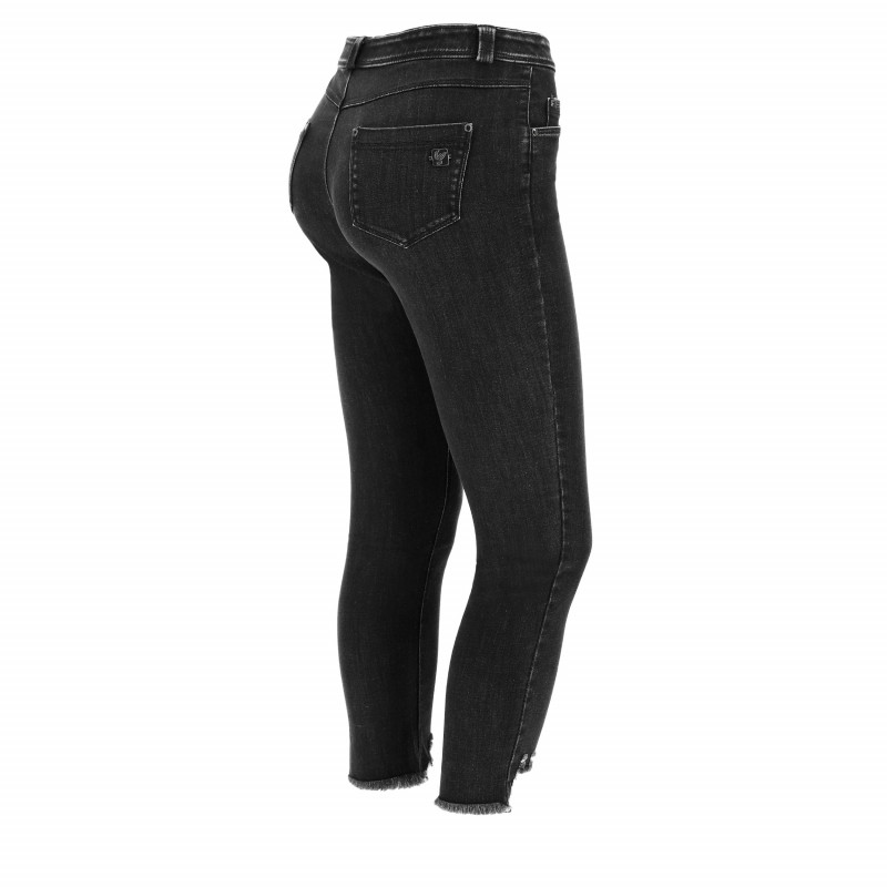WR.UP® - High Waist Skinny - N0 - Black