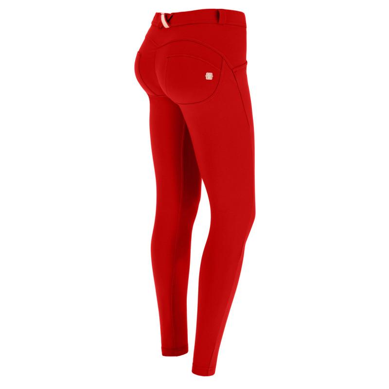 WR.UP® - Spodnie Skinny z wysokim stanem w kolorze czarnym